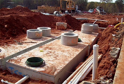 septic tanks, set in series GSI provides full service septic tank repair and septic system maintenance