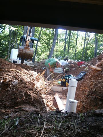 GSI provides full service septic tank repair and septic system maintenance installing pump & electrical connections