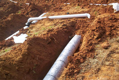 step down Northeast Georgia based GSI offers septic system installation, maintanance and repair