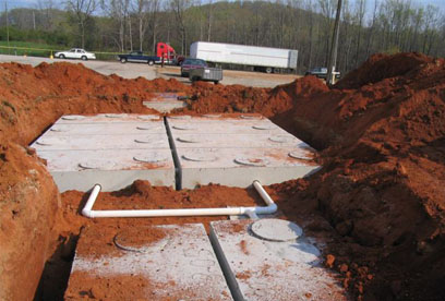 complete installation of all tanks Northeast Georgia Septic System maintenance install repair company GSI is a your full service septic tank provider