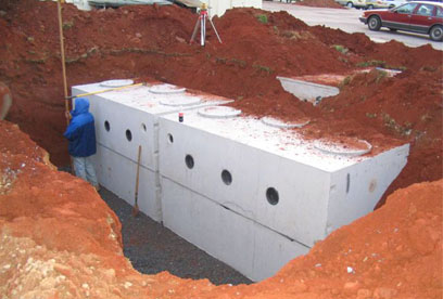 multi septic tanks, set in series GSI provides full service septic tank repair and septic system maintenance